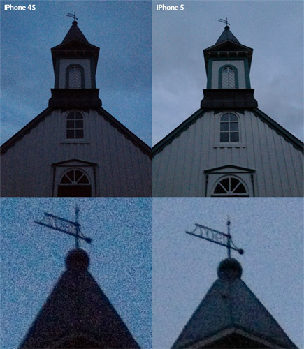 iPhone 5 camera gets tested in Iceland, panorama and lowlight comparison with iPhone 4S included