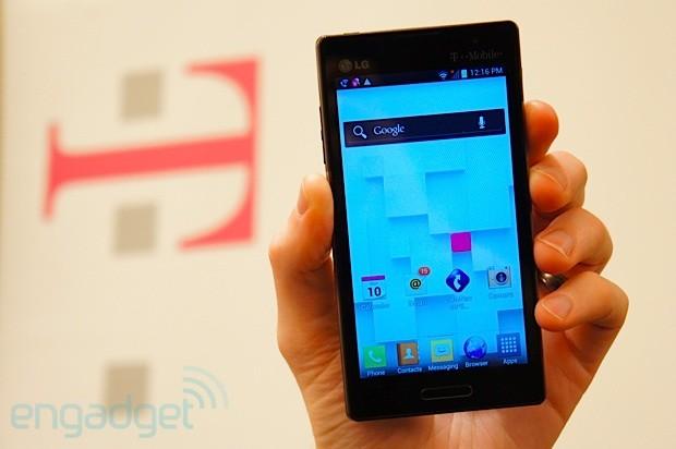 LG Optimus L9 for TMobile handson