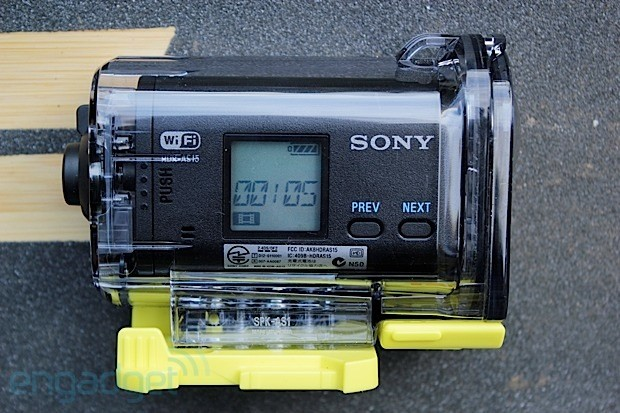 DNP Sony Action Cam review a good rugged camera with a few software wrinkles