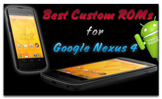 Google-Nexus-4-best-Roms