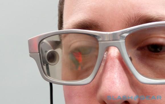 Очки с проекцией на линзы