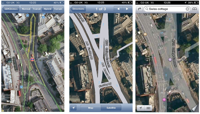 Geocentric App Developers Compare Apple's MapKit and Google