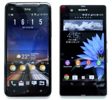 HTC-Butterfly-vs-Sony-Xperia-Z