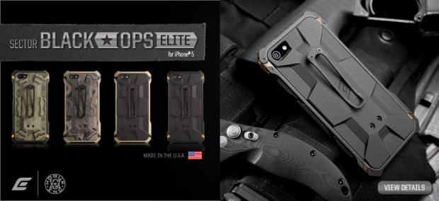 Element Releases The Black Ops Elite Case For Iphone 5