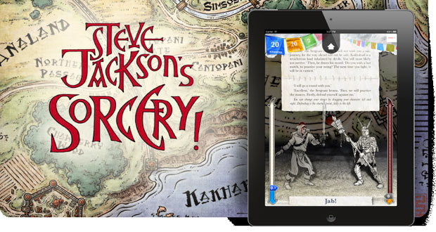 Sorcery! on iOS reincarnates Fighting Fantasy book series for tablets and smartphones