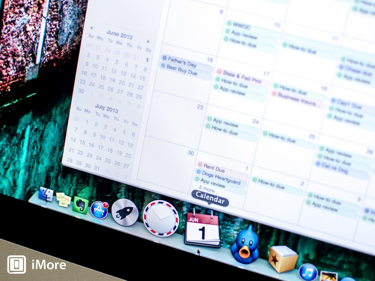 How to view mini calendars in the Calendars app for Mac