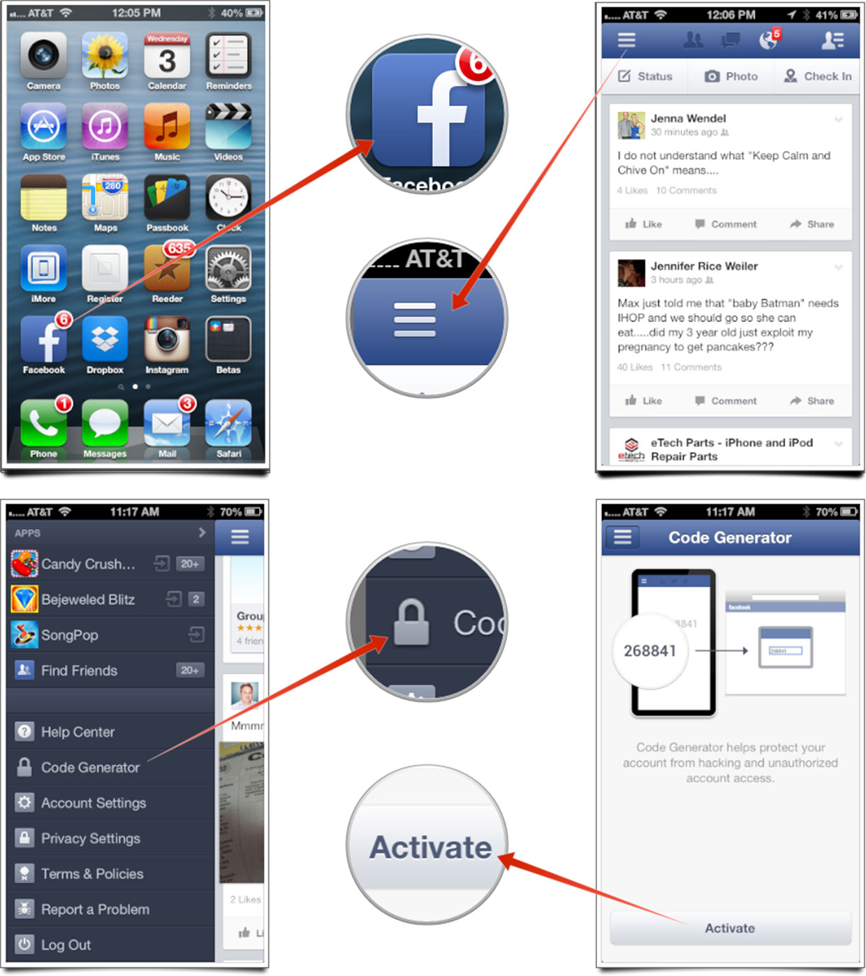 How to add extra security to your Facebook account on iPhone