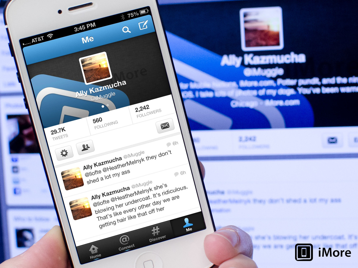 How to edit your Twitter profile with Twitter for iPhone and iPad