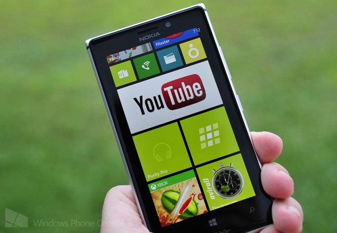 youtube app on windows phone