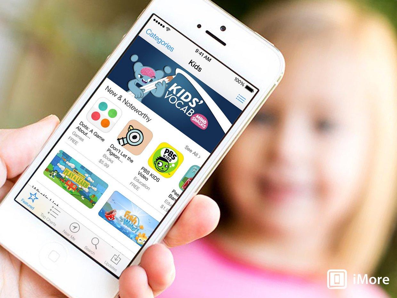 iOS 7 preview: App Store gets nearer, kid friendlier