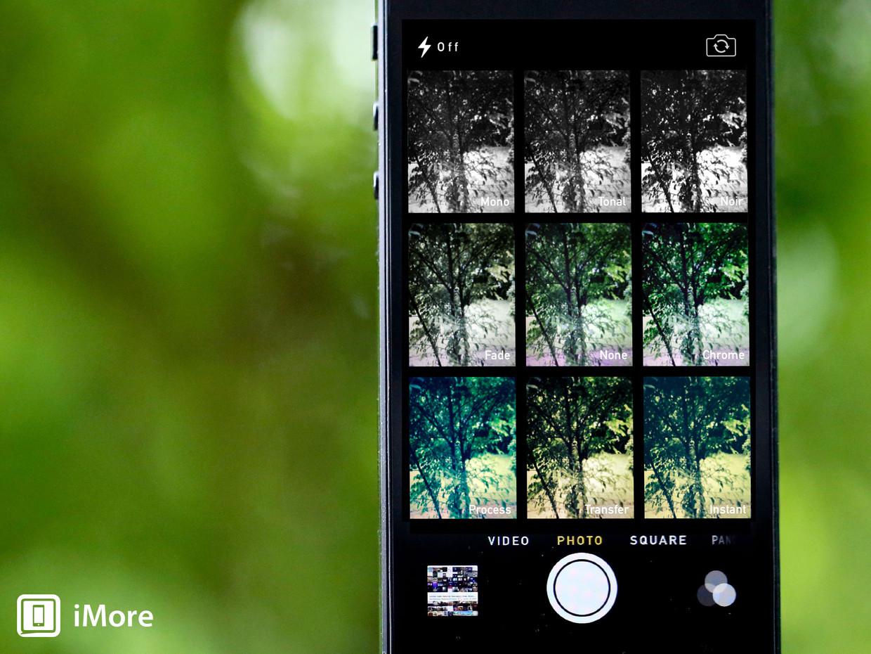 iOS 7 preview: Camera