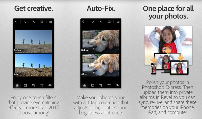 Adobe Updates 'Photoshop Express' with Controversial New ...