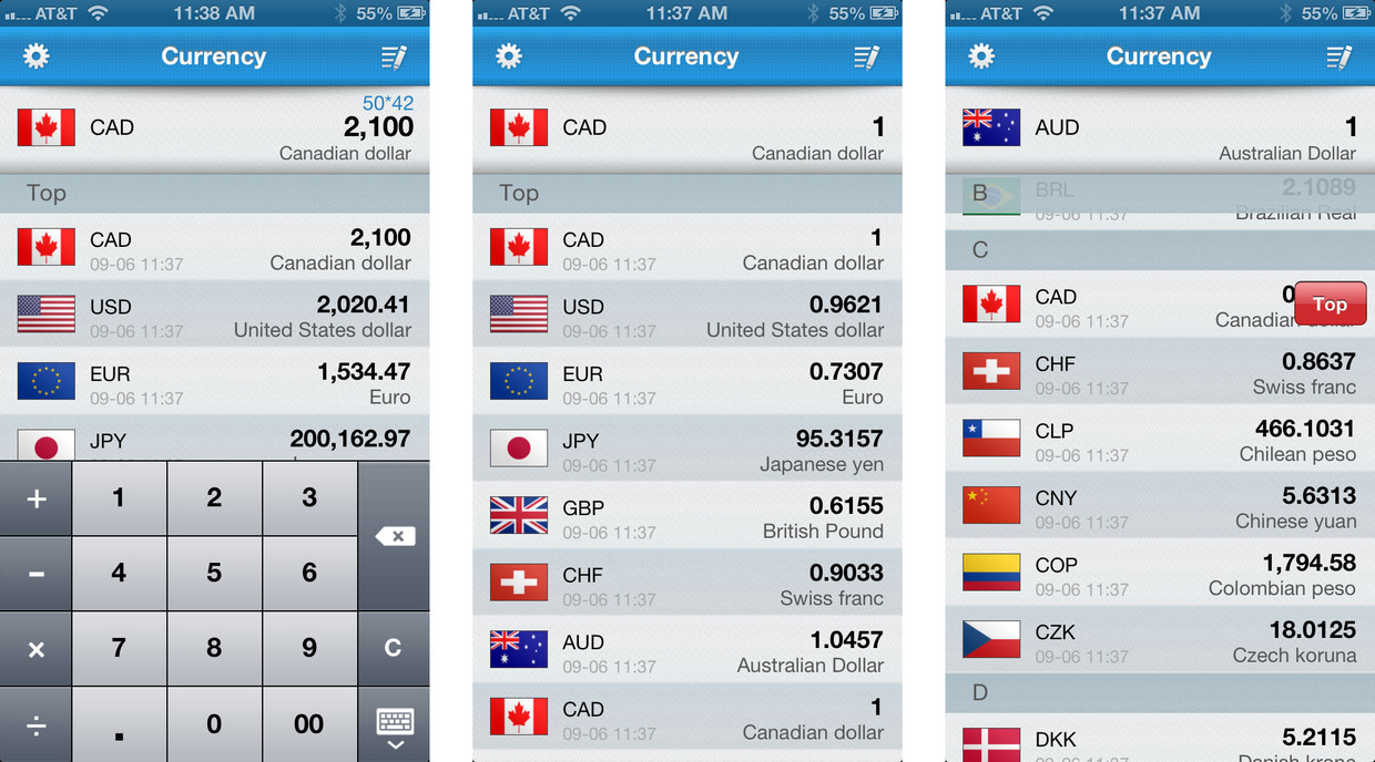 Currency Converter Latest Exchange Rates And