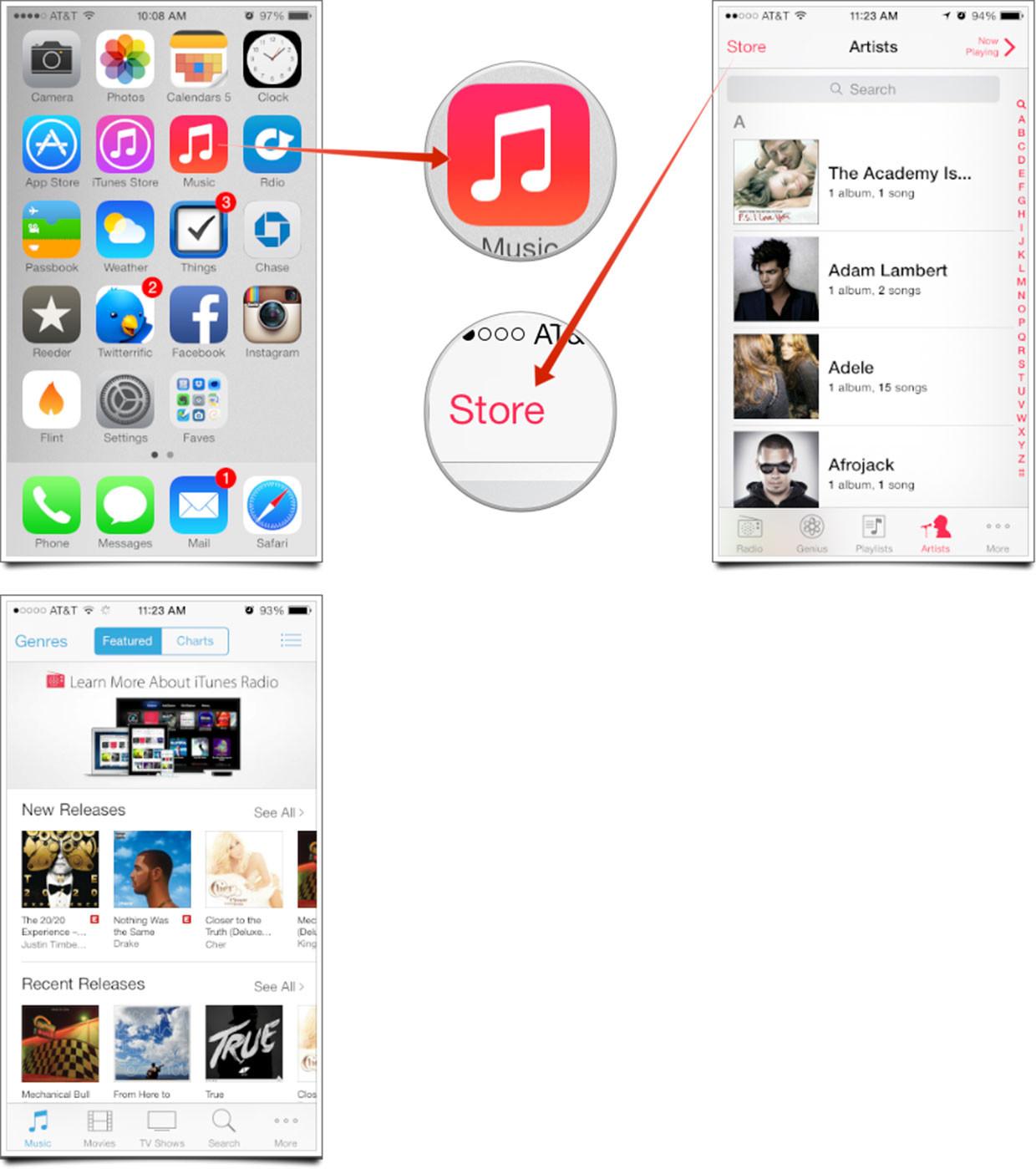 Iphone App Stor...