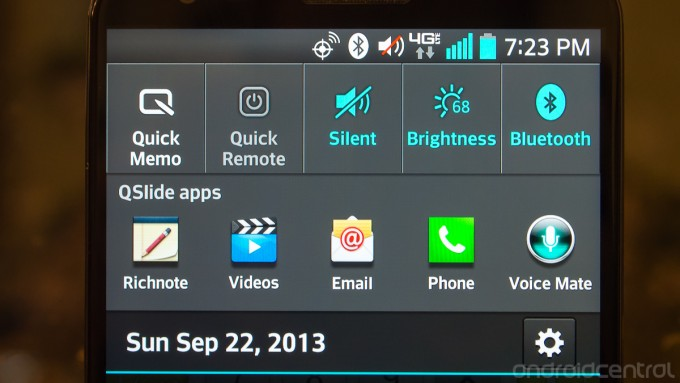 Qslide On The Lg G2 A Quick Way To Access Frequently Used Tools Aivanet