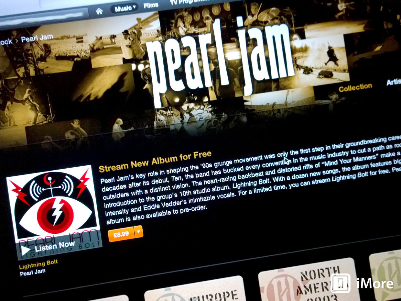 Album Pearl Jam Lightning Bolt Pearl Jam's New Album
