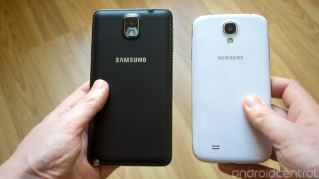 Galaxy Note 3 vs S4