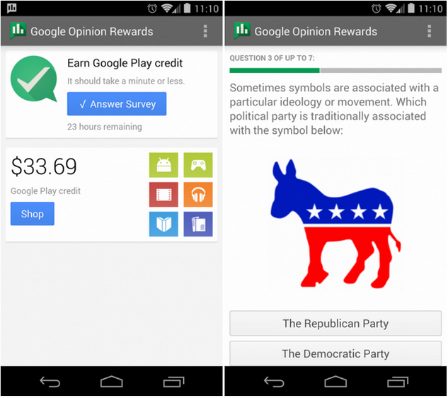 google opinion rewards more surveys google opinion rewards app hits the play store aivanet 9645