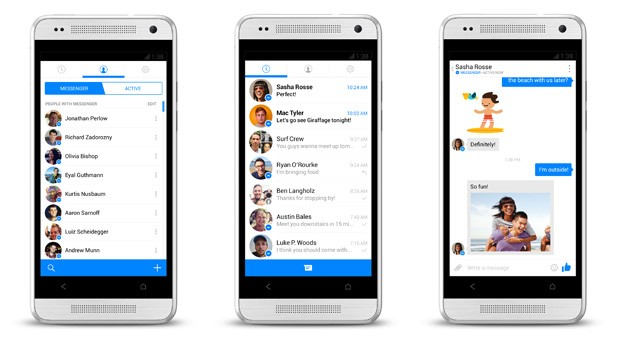 messenger app for iphone and android