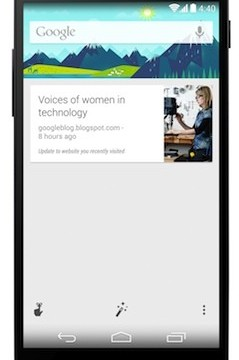 google now's latest update adds reader like website