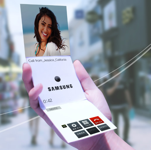 Samsung Promises That Flexible, Foldable Screens Will Be ...