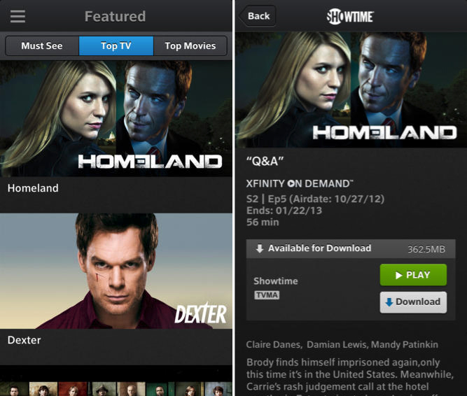 Comcast Launches Xfinity Tv Go For Ios Offers Live