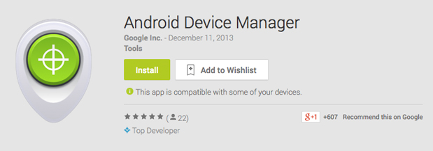 Andriod Device Manager