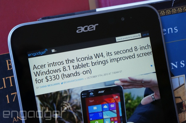 Acer Iconia W4 review: a big upgrade to a small Windows ...