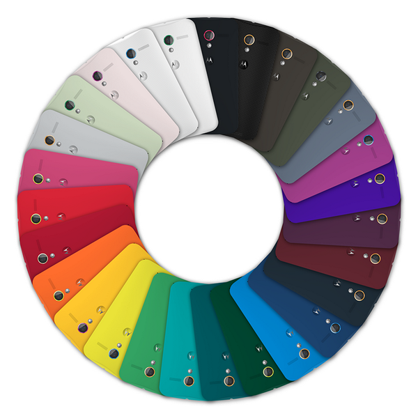 Moto X 2014 Colors 9 New Colors Added to ...