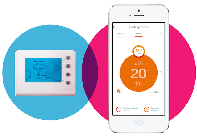 British Gas smart Hive thermostat can now respond to a home owner s location AIVAnet