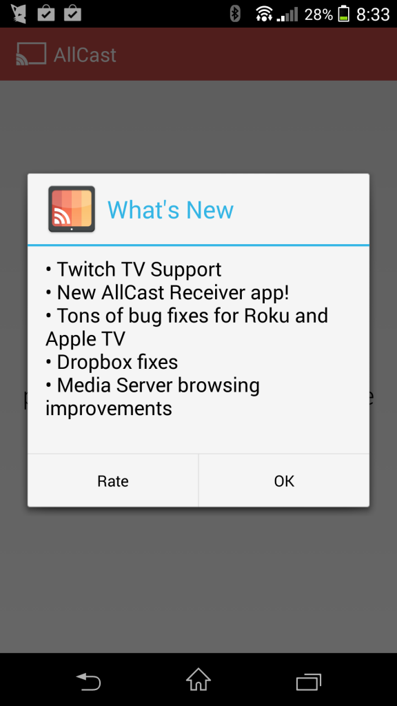 AllCast Picks up Twitch TV Support