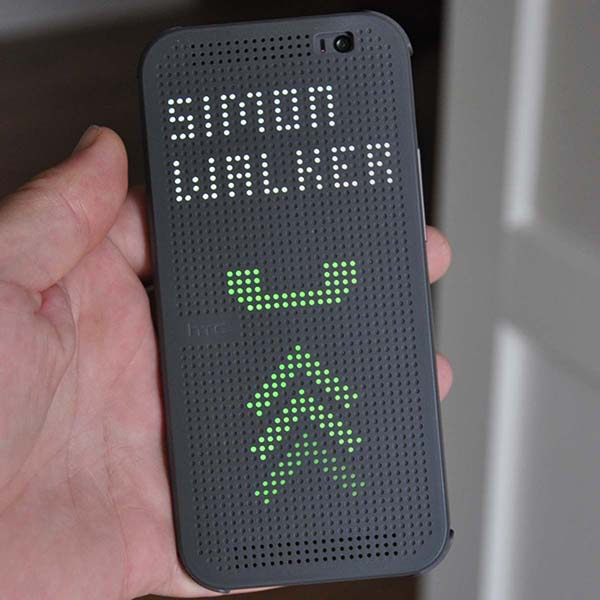HTC Dot View Case for the HTC One M8. A Cool Idea that ...