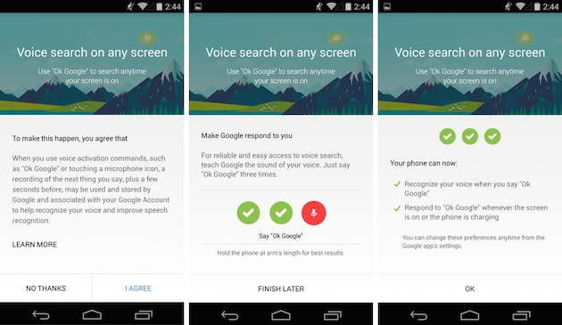 how to stop ok google from lock screen