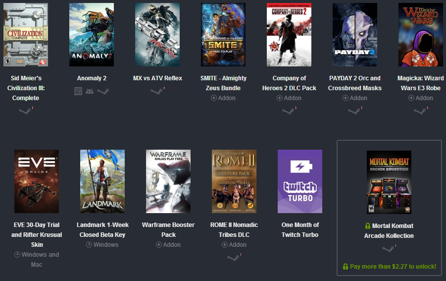 Humble Bundle Pinterest: DEALS & STEALS: E3 Humble Bundle Packs Over $100 Worth Of