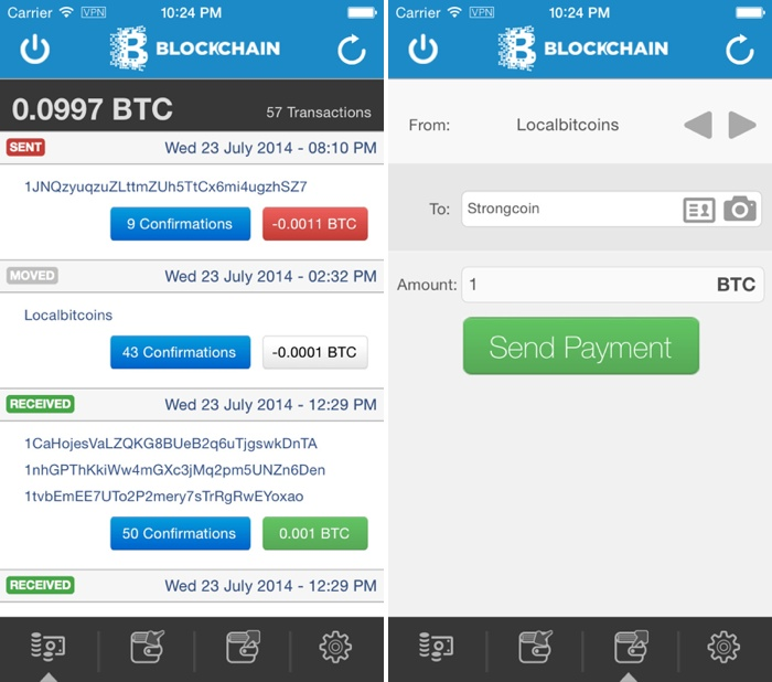 Bitcoin Wallet App 'Blockchain' Returns to the App Store [iOS Blog