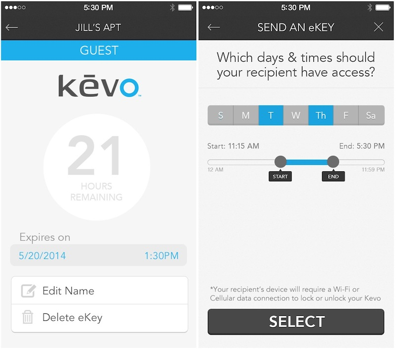 Kwikset S Kevo Smart Door Lock Adds Free Guest Ekeys