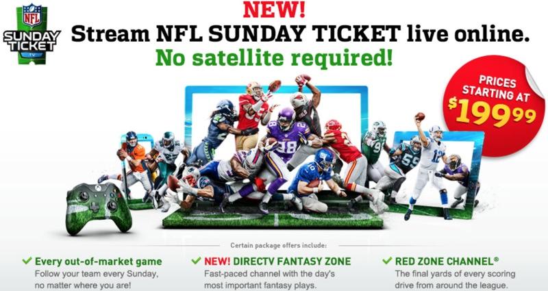 nfl football teams direct tv nfl ticket