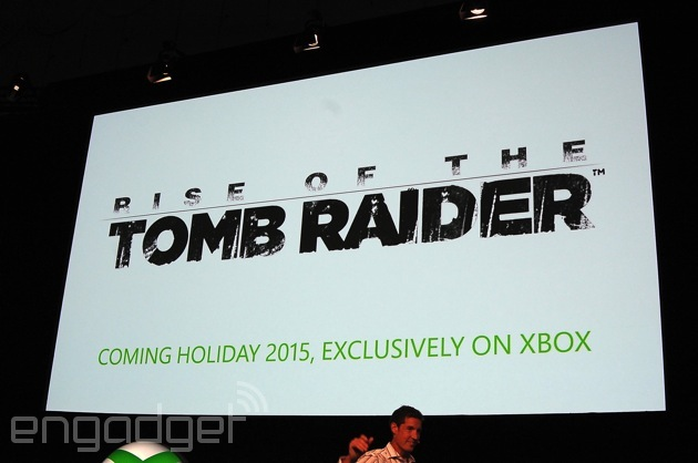 Rise of the Tomb Raider' is a 2015 exclusive for Xbox One - AIVAnet