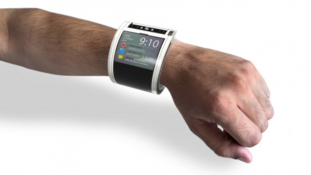 Nexus 360 on wrist