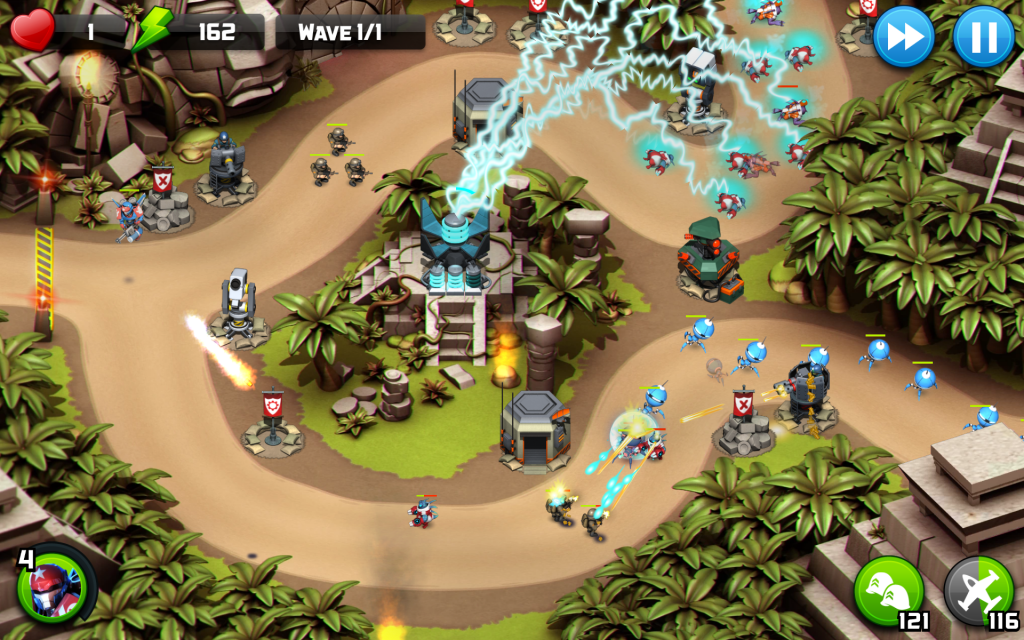 New Game Alien Creeps Td A Tower Defense Alien Killing Machine