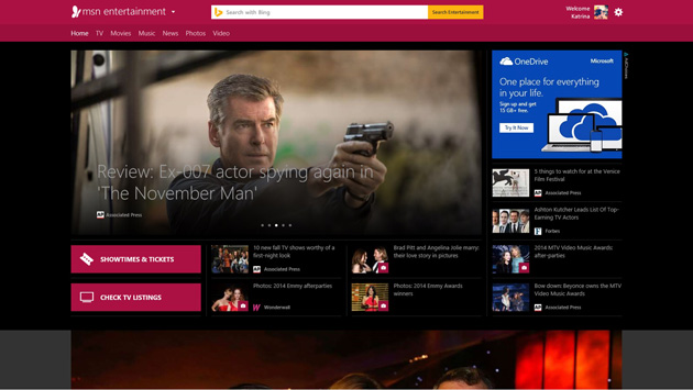 Microsoft MSN homepage reborn as a blend of news portal and online ...