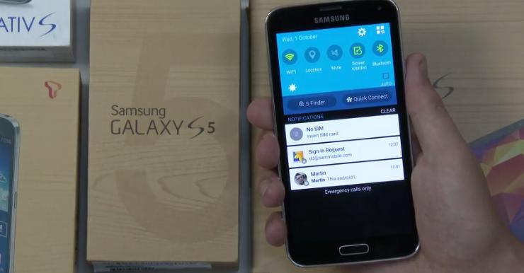 New Samsung Update