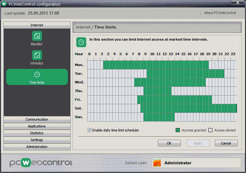 PC Web Control