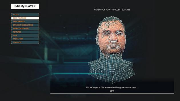 Dji Spark Vs Mavic Pro >> 'NBA 2K15's' face scanning creates frightening players ...