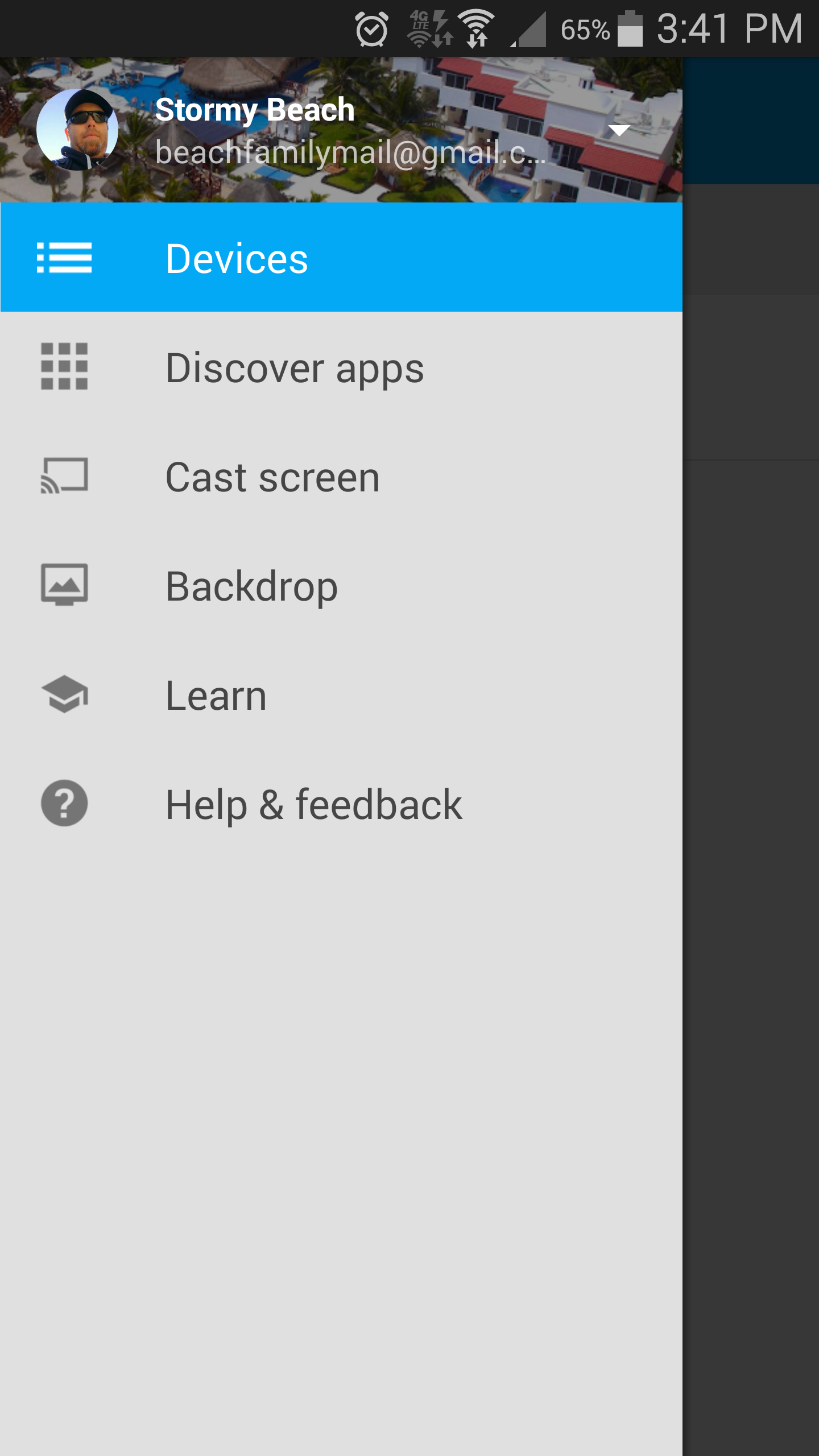 Chromecast app update