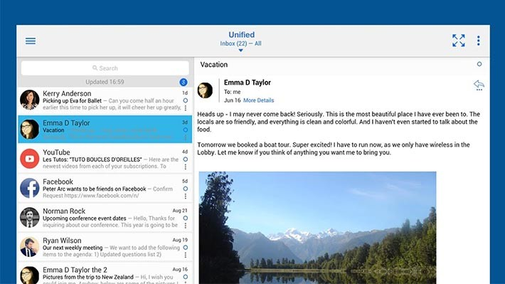 12 best Android email apps - AIVAnet