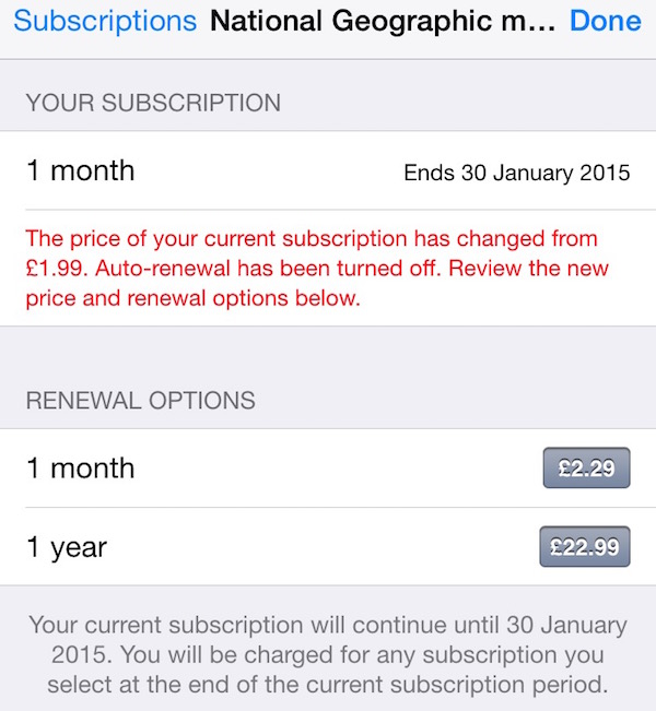 how to turn off app subscriptions
