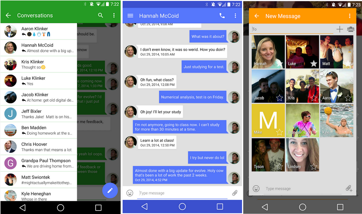 Best app for messaging on android