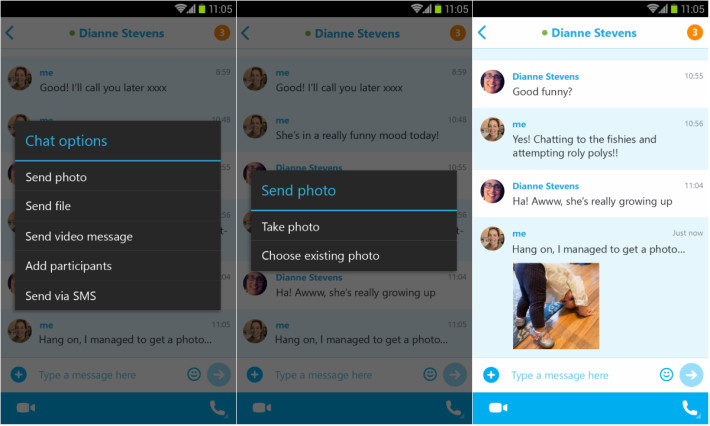 Skype Android apps