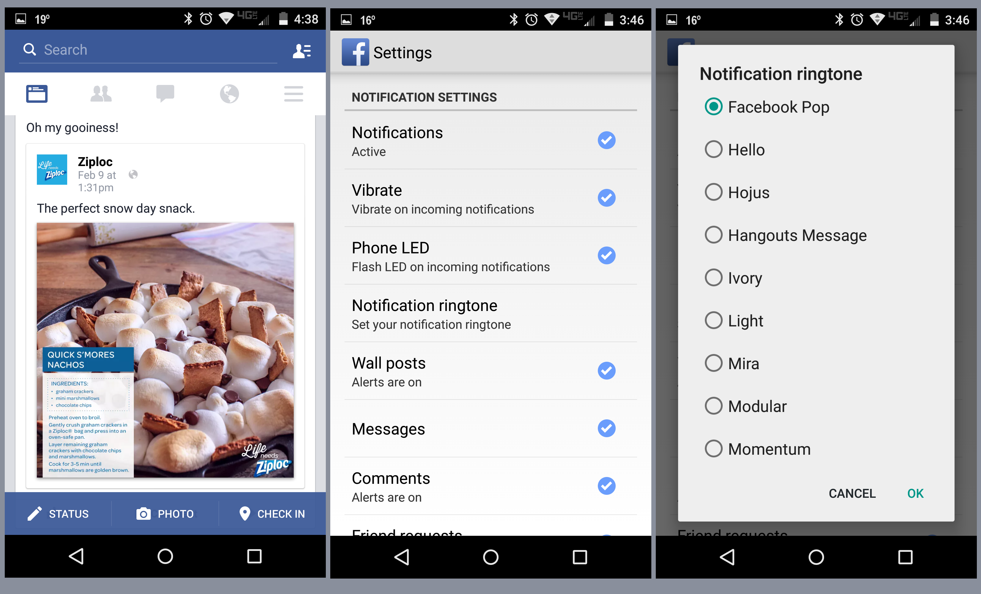 How To: Disable or enable sounds in Facebook app for Android - AIVAnet
